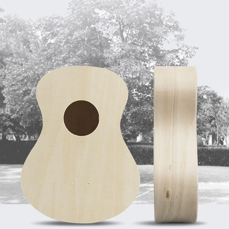 Jazz Kit Ukulele Diy Kids Wood Iniciante Set Baritone Small Guitar Accessories Sports White Assembly Musique Instruments ZZ50YL enlarge