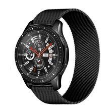 Boucle milanaise 20mm 22mm bracelet pour Samsung Galaxy montre 46mm engrenage S3 frontière actif 2 46mm/42mm bracelet Huawei GT/2/2e bande