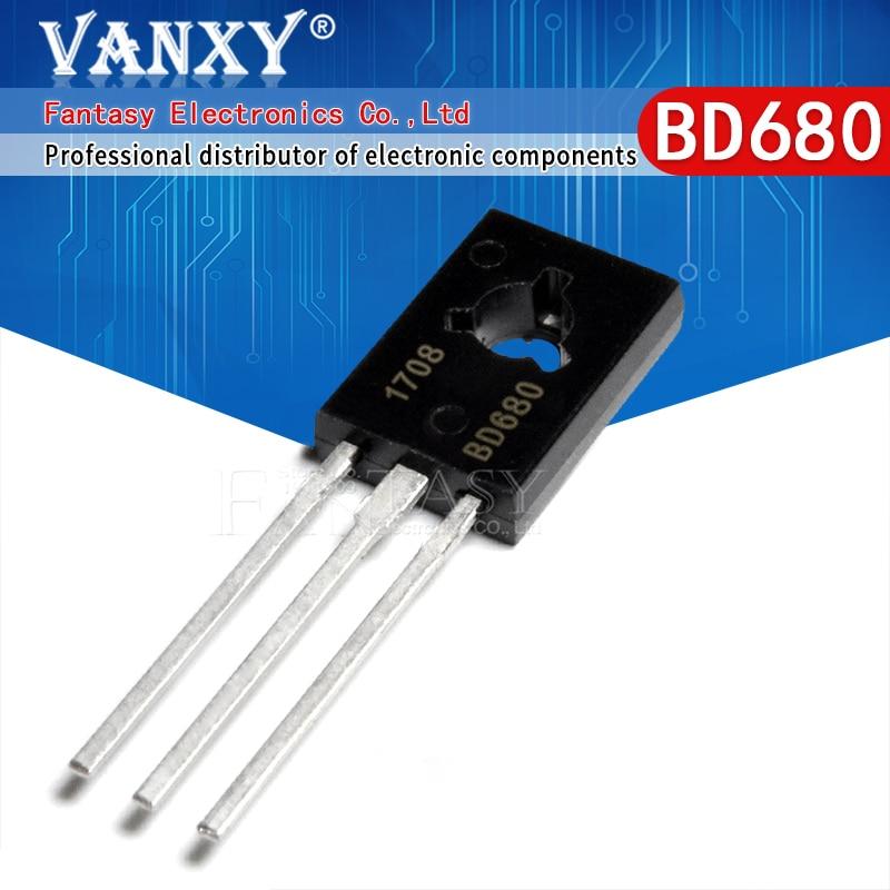 10 pièces BD680 TO126 BD680A à-126