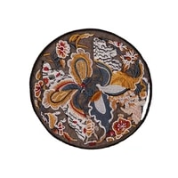 chinese culture round chinese style butterflies flying in pairs embroidery patches sew on applique clothing dress decoration