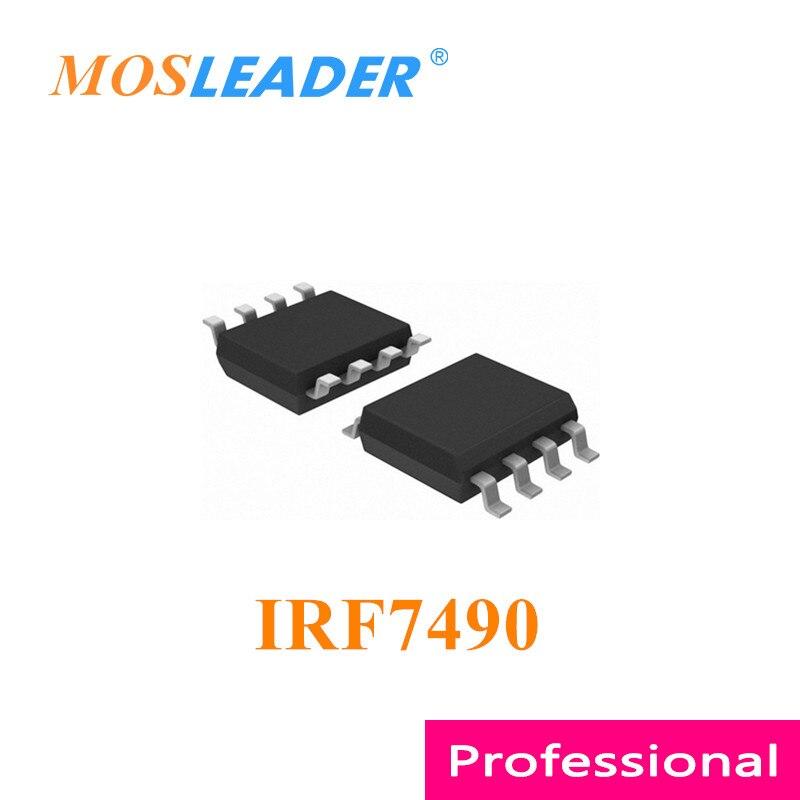 Mosleader IRF7490 SOP8 100 قطعة 1000 قطعة IRF7490TRPBF IRF7490TRPBF IRF7490TR صنع في الصين جودة عالية
