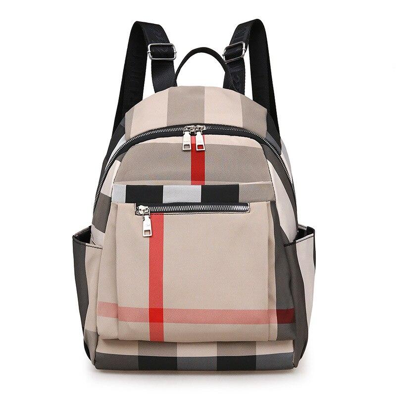 2020 nova boa qualidade mochila coreano moda náilon mochila feminina à prova dwaterproof água desgastar-resistente ao ar livre saco de viagem