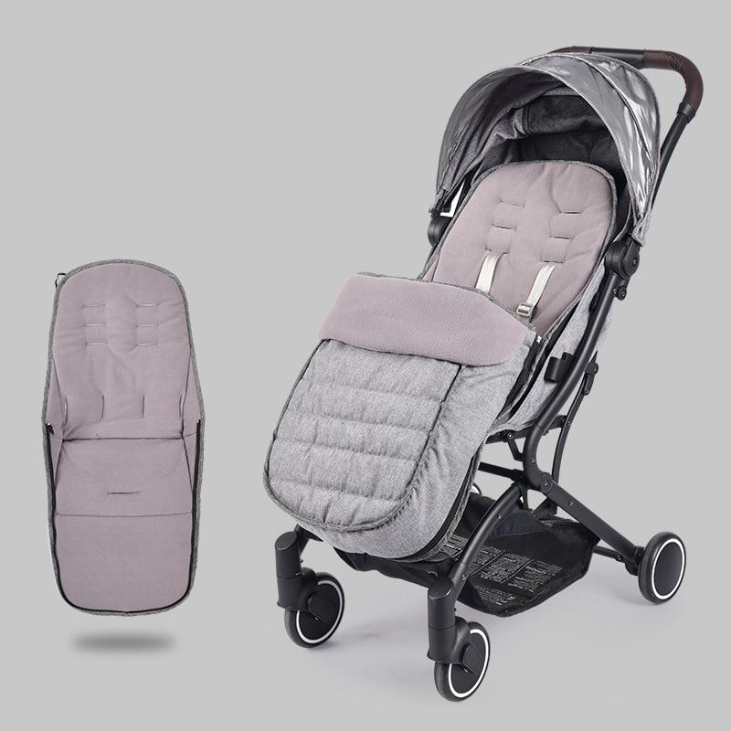 Winter Baby Stroller Envelope Sleeping Bag Stroller Mat Mattress Bunting Bag Stroller Footmuff Newborn Stroller Accessories