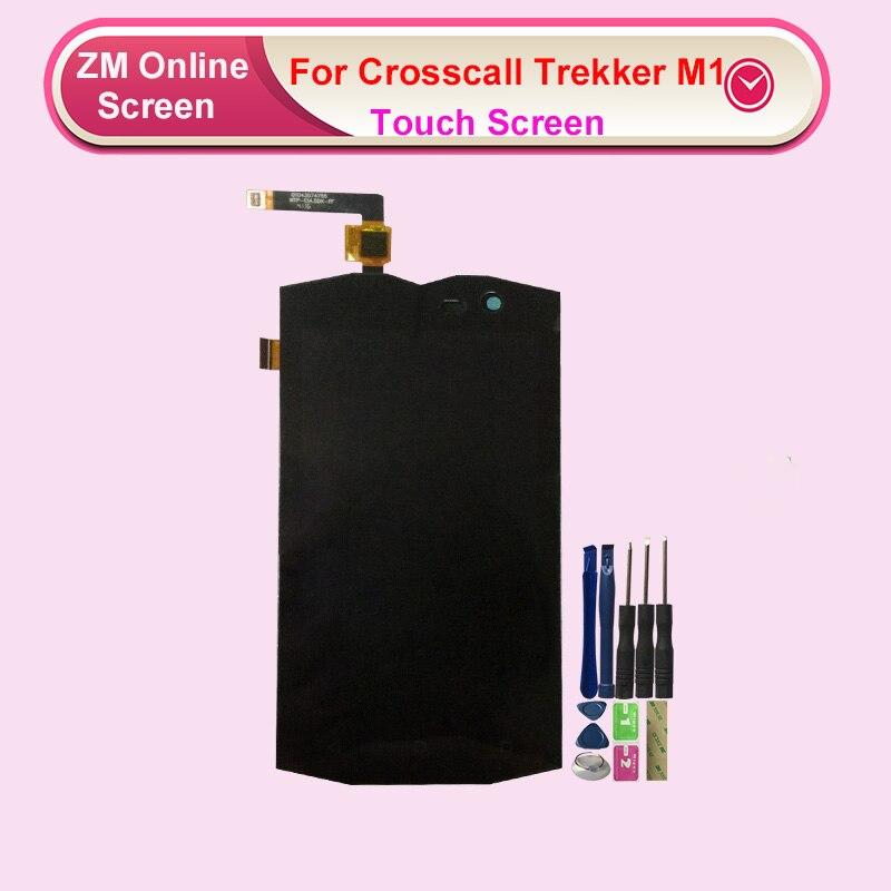 RYKKZ pour Crosscall trekking ker M1 écran LCD avec remplacement de lassemblage de numériseur décran tactile avec des outils