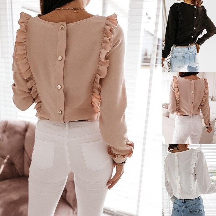 Las mujeres estilo caliente celebridad de Internet camisa de manga larga falda...