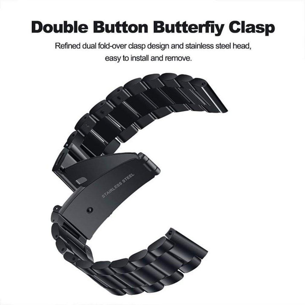 Correa de acero inoxidable para Xiaomi Amazfit Gts, repuesto de correa de Metal de 20mm de ancho para reloj Amazfit Gts