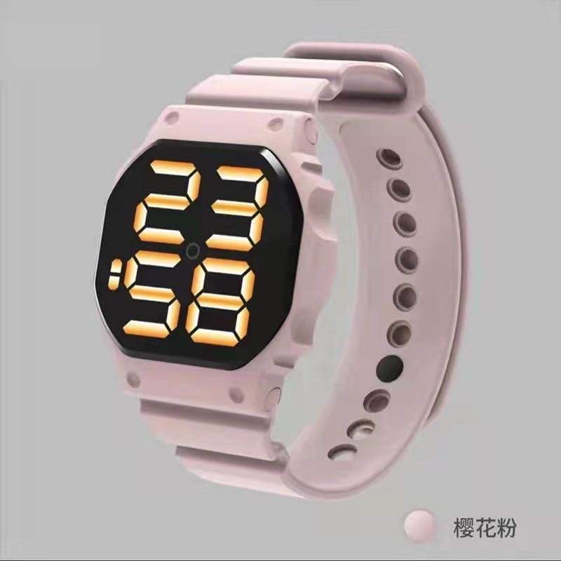 Children's Led Electronic Watch Fashion Leisure Sports Touch Waterproof Watch Couple Electronic Watc