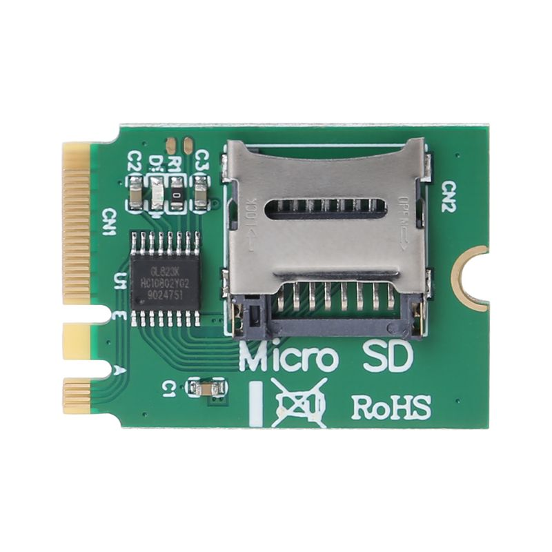 M2 NGFF llave A.E WIFI ranura A Micro SD SDHC SDXC lector de tarjetas TF T-Flash tarjeta M.2 A + E Kit adaptador de tarjeta