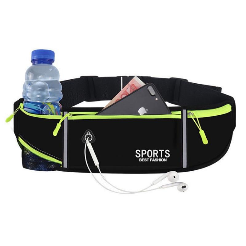 Soporte de botella párr teléfono... riñonera deportiva para correr para iPhone 12 Pro Max XR XS 7 8 Plus gimnasio Fitness... Sams
