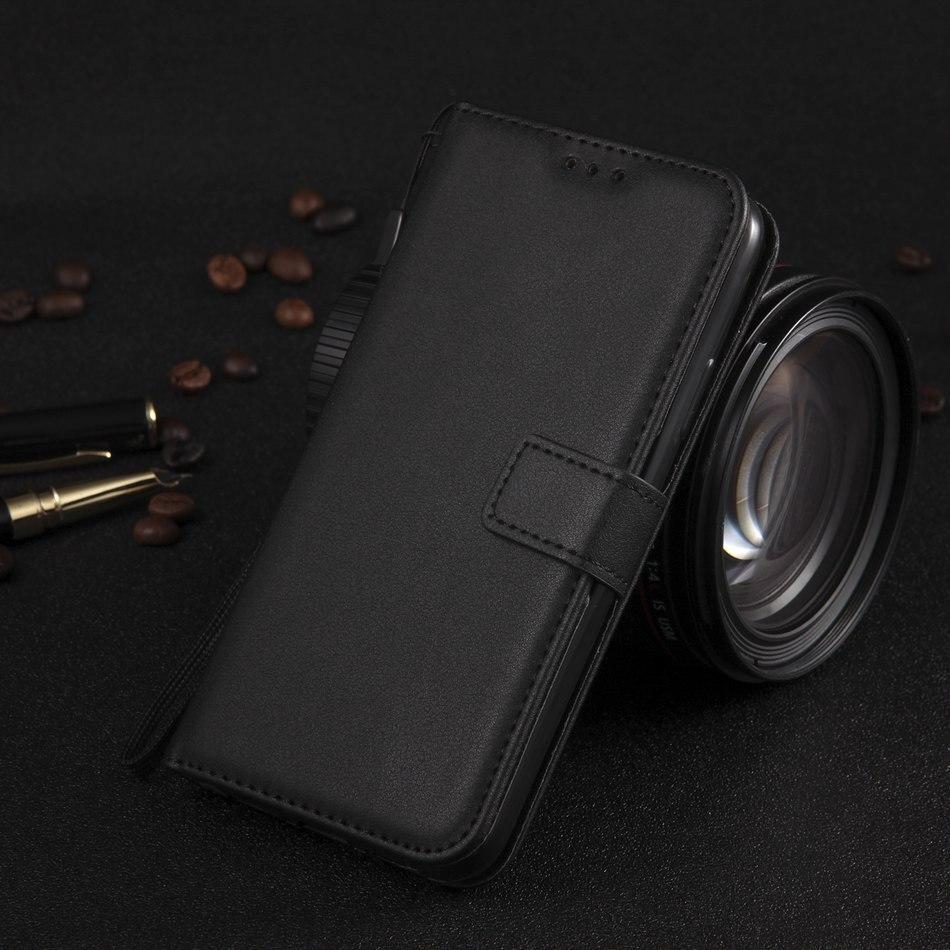 Bolsas de teléfono de Color sólido de lujo para Fundas LG K10 2017 UE K10 K420N Q6 funda de teléfono de Color sólido ranura para tarjeta caja de cubierta de soporte P21E