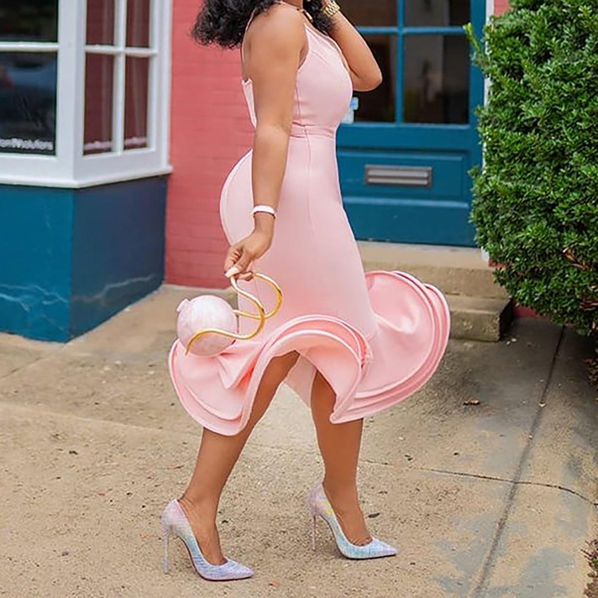 Elegant Bodycon Prom Dresses Ladies Formal Evening Dresses
