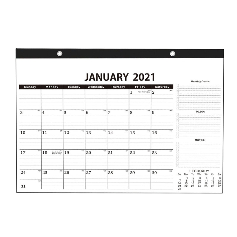 2021 Wall Hanging Annual Calendar Daily Monthly Planner Schedule Yearly Agenda
