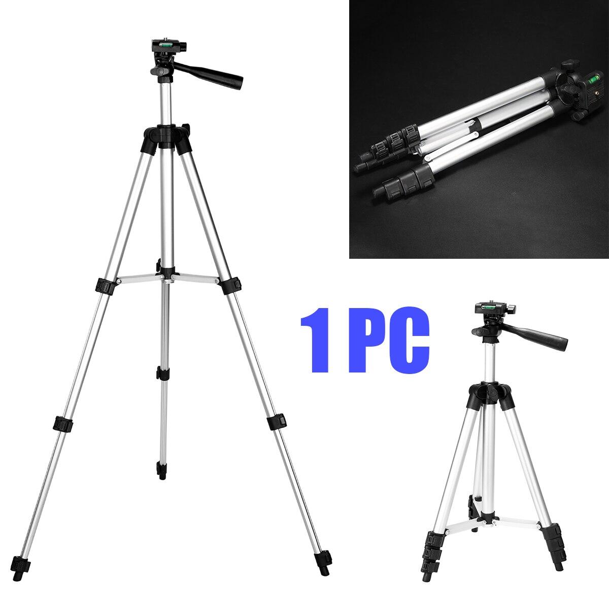 Aleación de aluminio LCD proyector trípode ajustable tripode Cámara extensible soporte para Mini proyector DLP Cámara proyector soportes