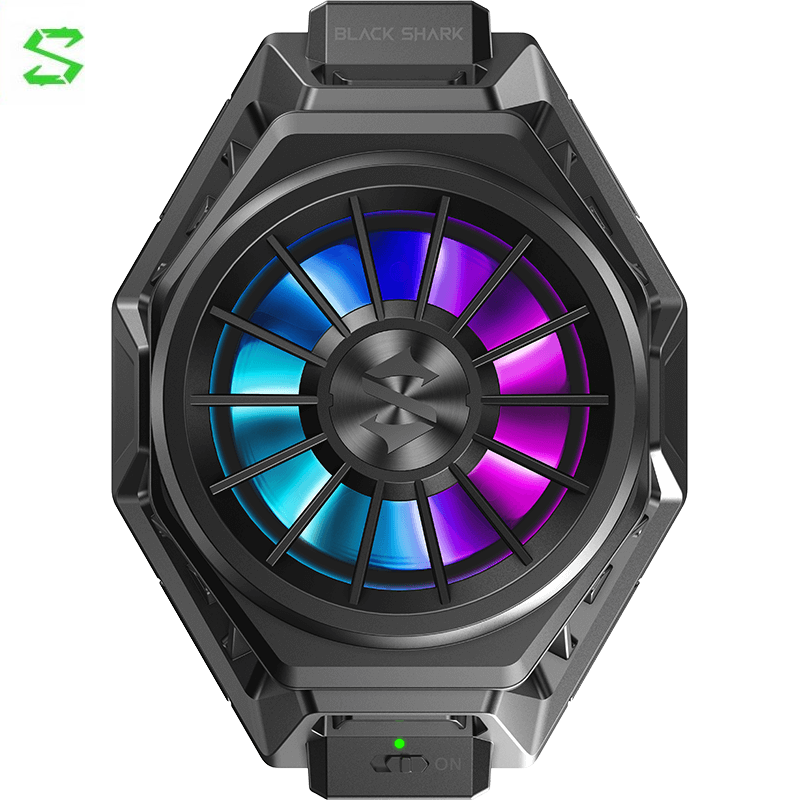 أسود القرش الهاتف Funcooler برو السائل مروحة التبريد المحمولة يبرد في ثوان التبريد هادئة جدا ل Redmi نوت 9 Poco X3