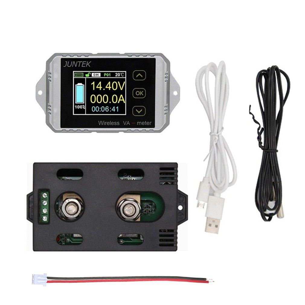 VAT1300 100V 300A LCD Digital inalámbrico de tensión de CC actual medidor VA coche Monitor de batería Coulometer CONTADOR DE Wattmeter