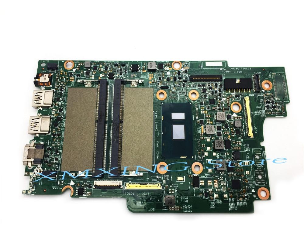 FULCOL Voor DELL INSPIRON 5368 5568 5378 7378 Laptop Moederbord I5-7200U CPU CN-0PG0MH 0PG0MH PG0MH Getest 100% werken