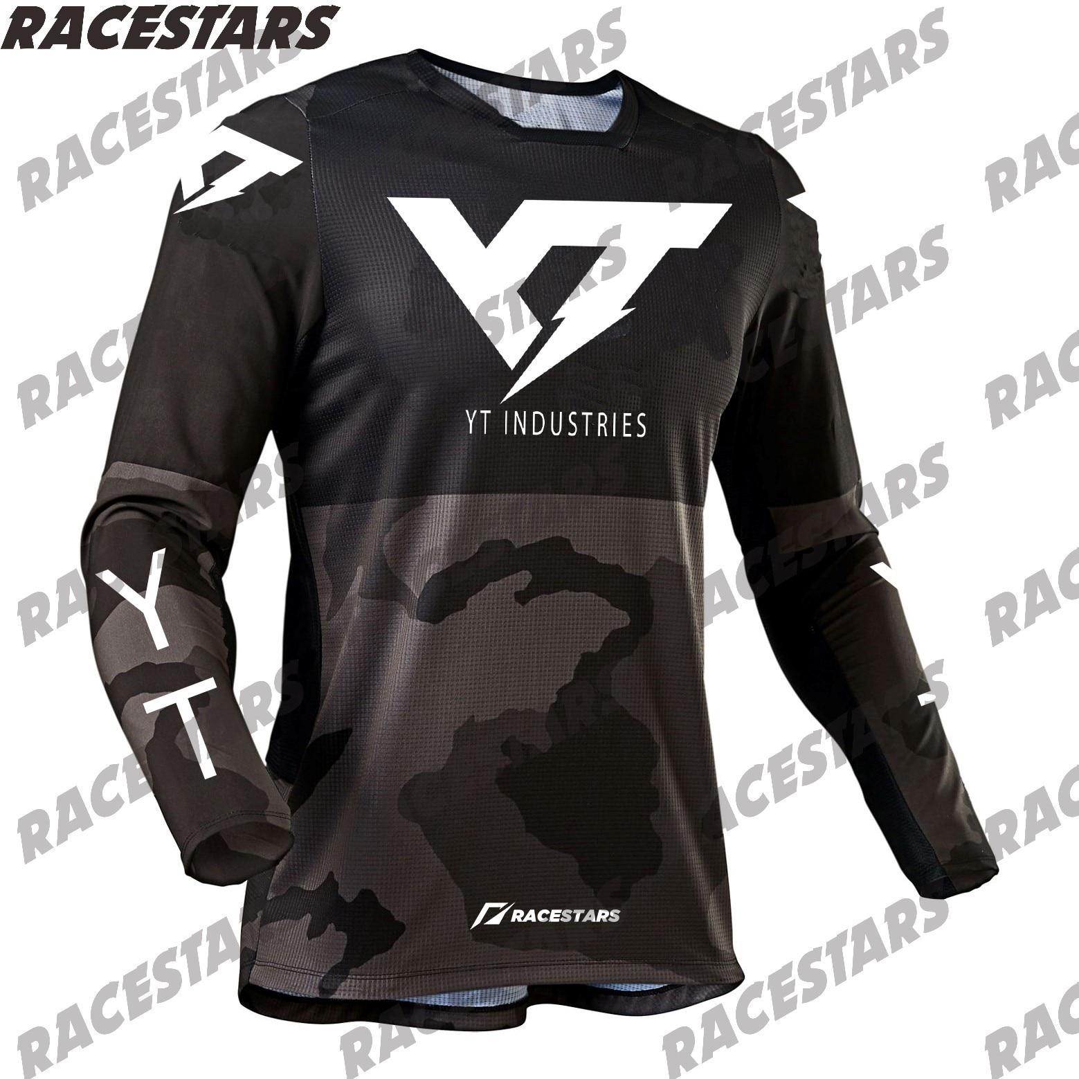 YT INDUSTRIES-Maillot de Ciclismo, camiseta de Motocross, Jersey de montaña para descenso,...