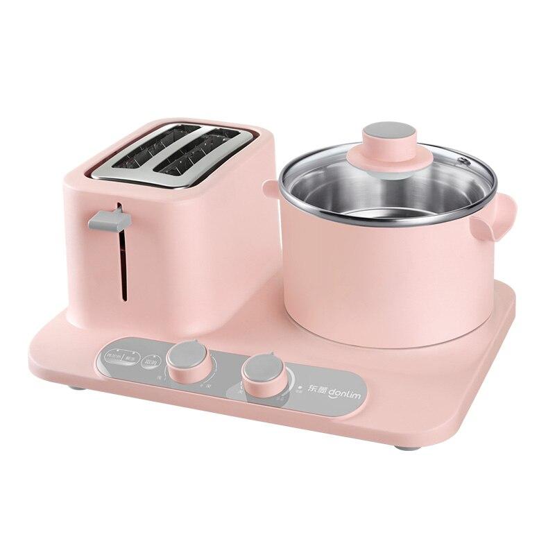 آلة الإفطار متعددة الوظائف ثلاثة في واحد ، وعاء للتدخين والقلي والطبخ ، عنبر الطلاب