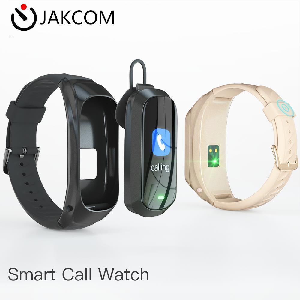 JAKCOM B6 Smart Call Watch Best gift with p80 gt 2 smart watch mujer solar clock men smartwatch mobile band 6