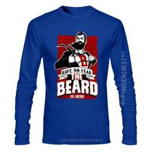 New Have No Fear The Beard Is Here T-Shirt Mens Funny Gift Top 2Xl 10Xl Tee Shirt