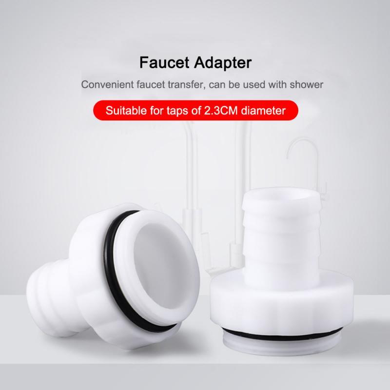 10/8/6/4/2PCS Plastic Faucet Multifunctional Shower Splash Head Adapter Accessories Kitchen Bathroom Tool