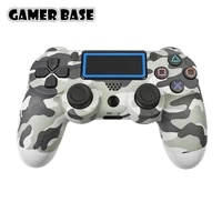 joysticks gamepad controle ps4 for pc android phone 3d bluetooth wireless controller for ps4 console 6 axis double vibration
