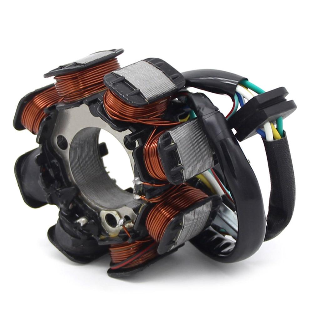 Magneto de generador para estator de motor bobina de encendido bobina de estator para Honda CT110 Postie bike 31120-459-921 1991-2013