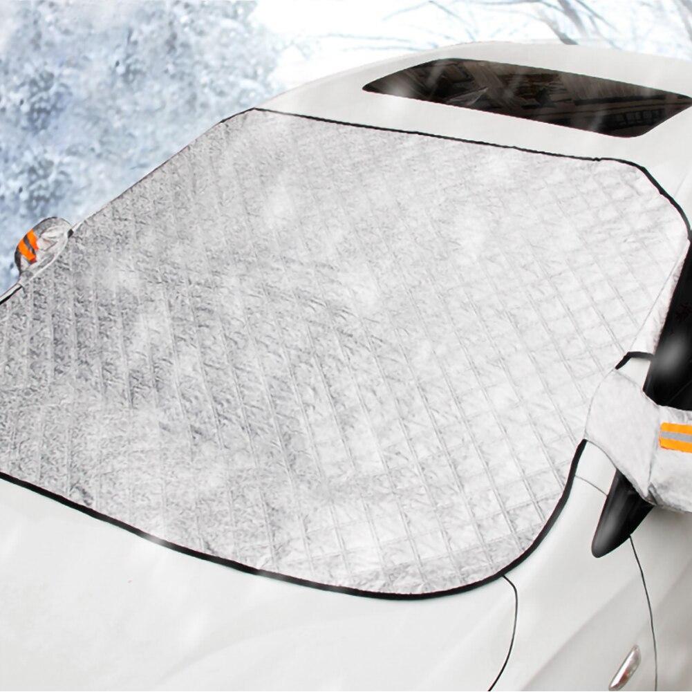 Protector magnético de la nieve del parabrisas del coche de la lona del raspador de hielo del invierno