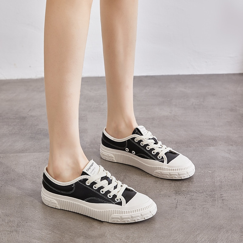 casual shoes for women flat shoes for women fisherman shoes for women canvas shoes for comfortable driving shoes footwear 2021 Spring,Summer Shoes for Women Flat Shoes,White,Black Shoes for Women,Casual,Comfort,Classic,Harajuku,Rubber Flat Shoes