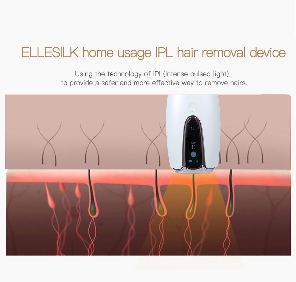 IPL Laser Hair Removal Device Electric Depilador A Laser Women Personal Beauty Care Home Use Epilator For Whole Body With CE enlarge