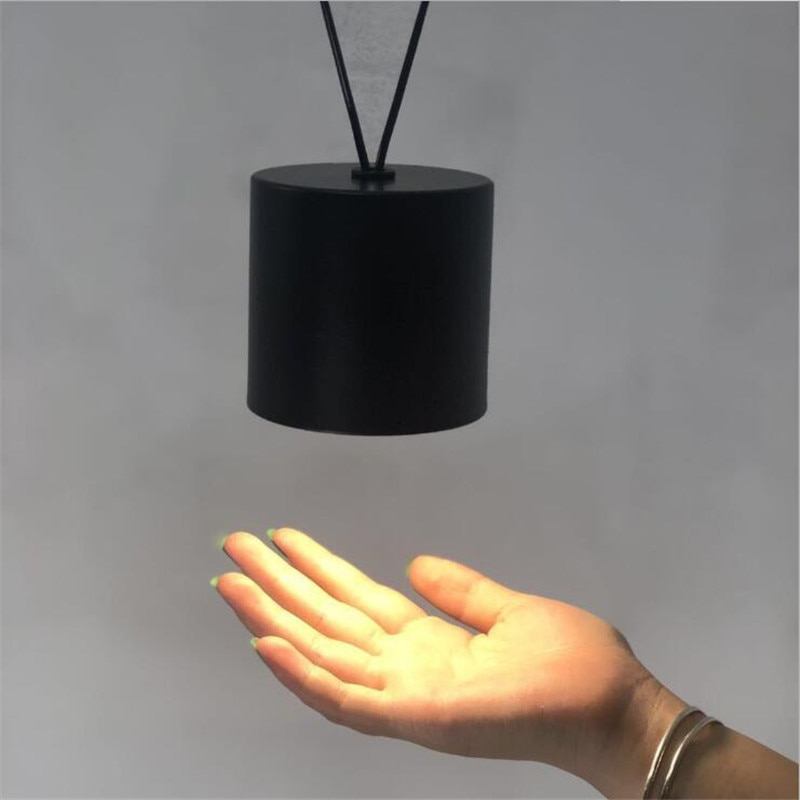 Vintage Loft Vibia Metall Führte Anhänger Licht Foyer Bar Esszimmer Moderne Schwarz/Weiß Geometrische Linie Drop Lampe 2608