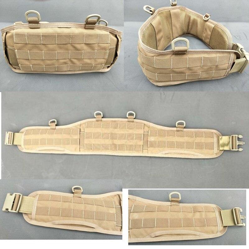 Táctica de deportes al aire libre MOLLE suspensión CS cubierta de cintura importada Lobo marrón tela impermeable