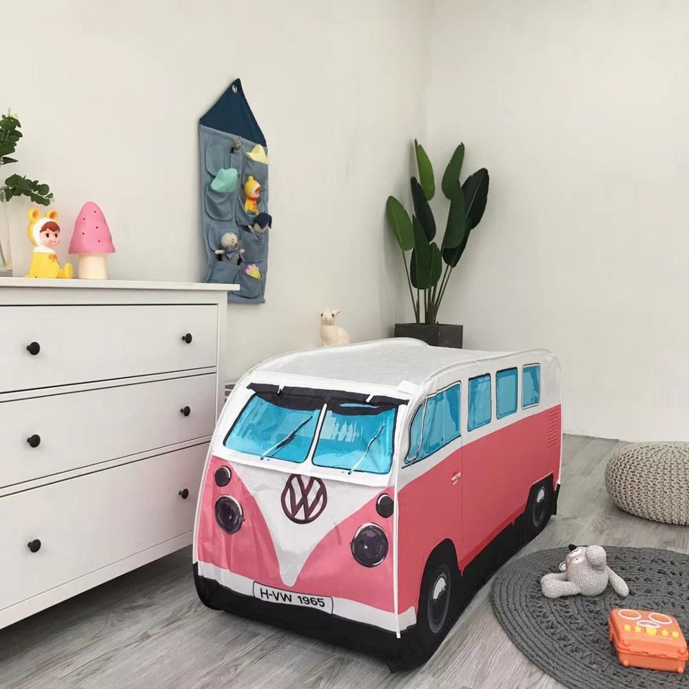 Car Bus Design Boys dream tent children kids indoor tent outdoor picnic baby beach playing tent room baby decoration