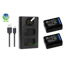 NP-FW50 Batterie pour SONY a6500 a6400 a6100 a7II a7SII a7RII a7R a7S a7 RX10IV RX10III RX10II QX1L NEX-5 NEX-7 SLT-A55 Caméra