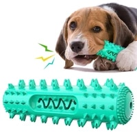 dog molar toothbrush toys chew cleaning teeth elasticity soft puppy dental care extra tough pet cleaning toy supplies dog toys