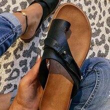 2021 Women Shoes Summer Roman Women's Sandals Light Ladies Casual Shoes Clip Toe Vintage Slip-On Bea