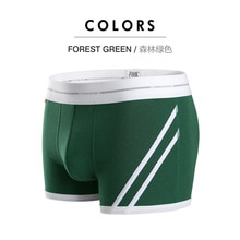 2021 Brand Sexy Men's Boxer Shorts Underpants High Quality Cotton Breathable Male Panties Men Boxers