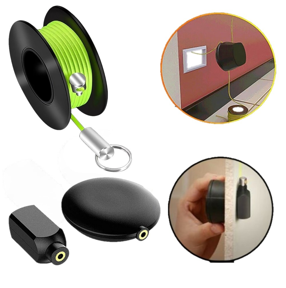 Magnetic Cable Wire Pull Snap Guider Magnetic Pipe Threader Puller Magnet Wire Puller Guide System Hand Tool