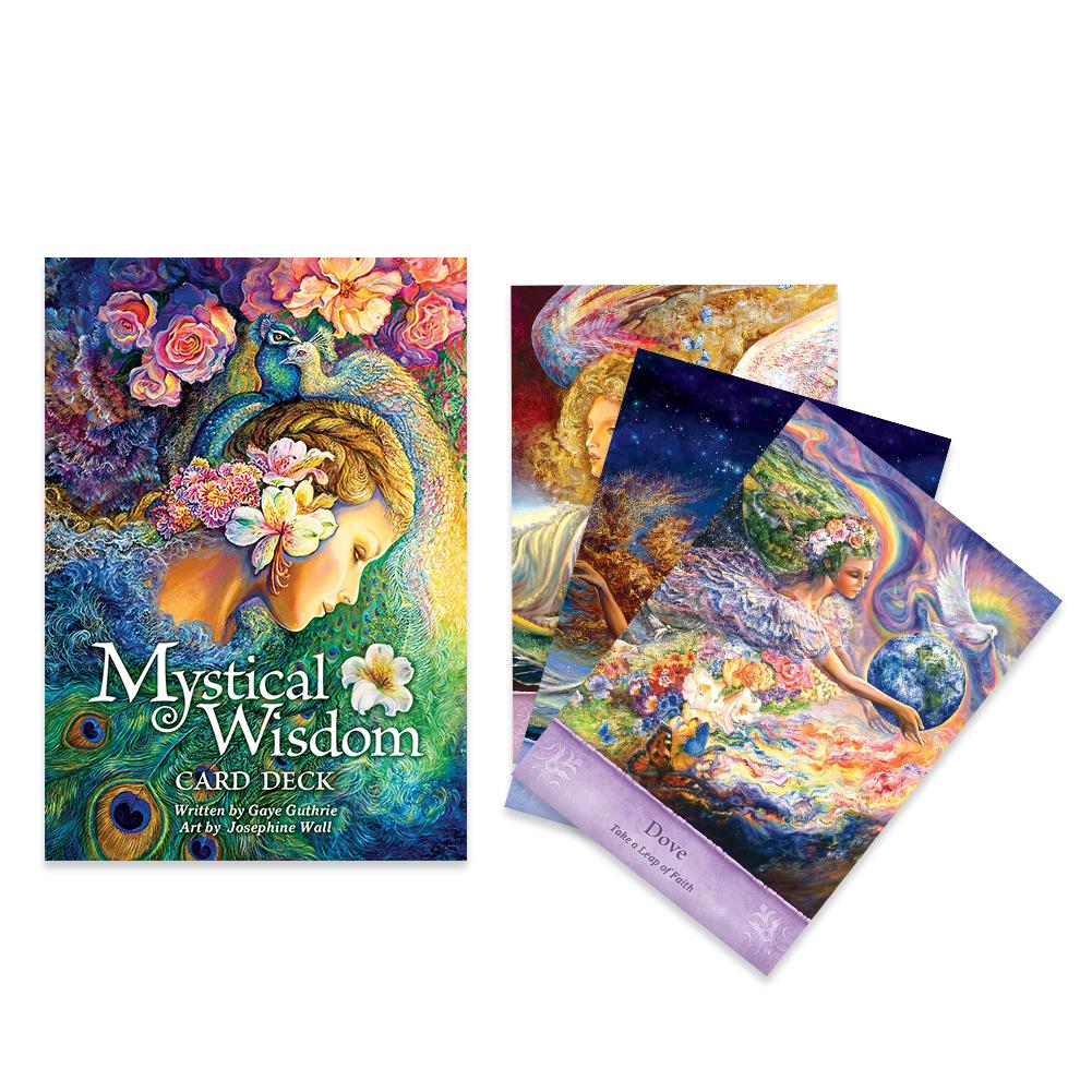 64 hojas 64 Tarjeta de la sabiduría mística de oráculo Tarjeta de Tarot Ángel maravilla criaturas maravillosas Josephine Voltaro Tarjeta de la sabiduría