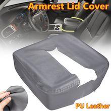 Auto Center Konsole Leder Armlehne Deckel Abdeckung icro fiber Box für Chevy/Avalanche/Suburban/ahoe/Silverado 1500 2500 3500 LT LTZ LS