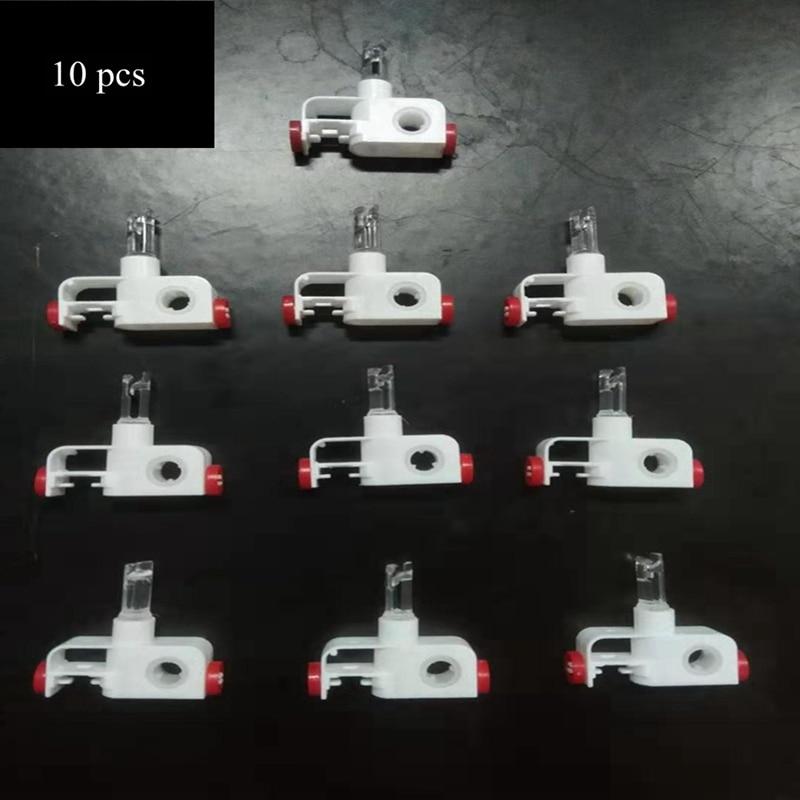 Комплект для ремонта вертикальных жалюзи с выносом, комплект для ремонта вертикальных жалюзи, запасные части для белых жалюзи (10)
