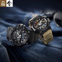 TwentySeventeen 야외 더블 디스플레이 디지털 시계 원래 가져온 된 운동 다기능 다이얼 듀얼 타임 남자에 대 한 방수