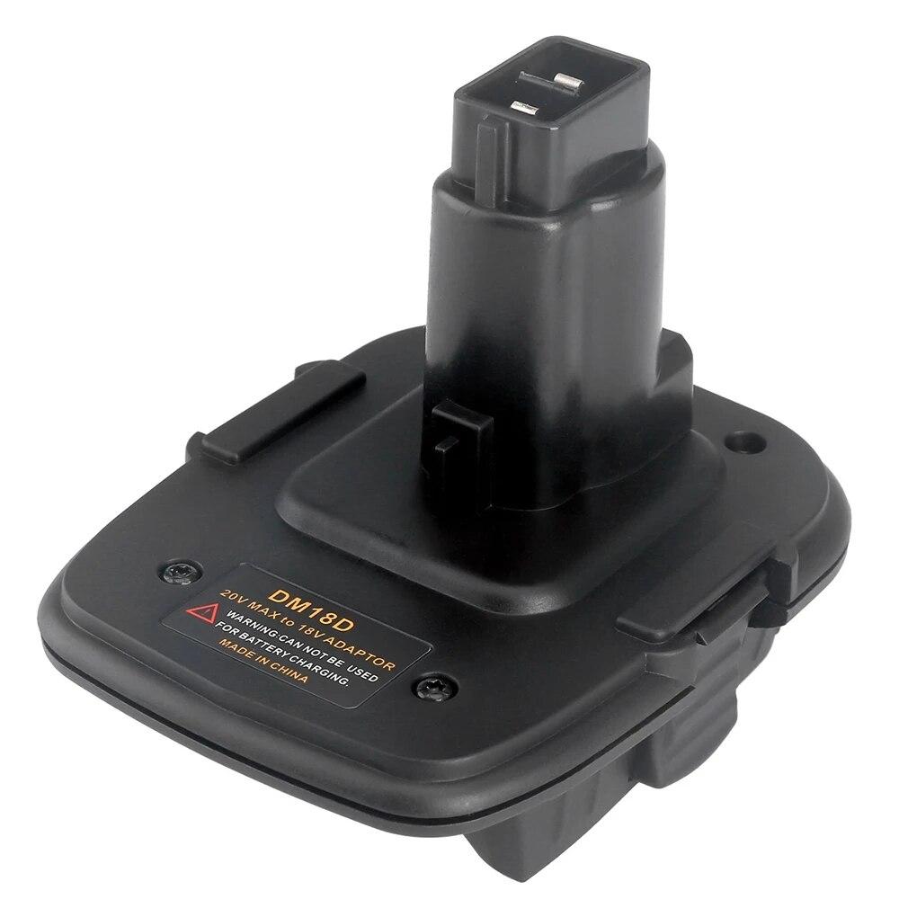 DM18D Battery Converter Adapter For DeWalt Tools Convert 20V Li-Ion Battery Milwaukee M18 to 18V NiCad NiMh Battery DC9096 enlarge