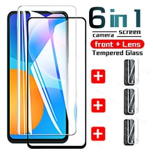 Full Cover Tempered Glass on For Huawei P Smart 2021 Camera Lens Screen Protectors for Huawei Huwei