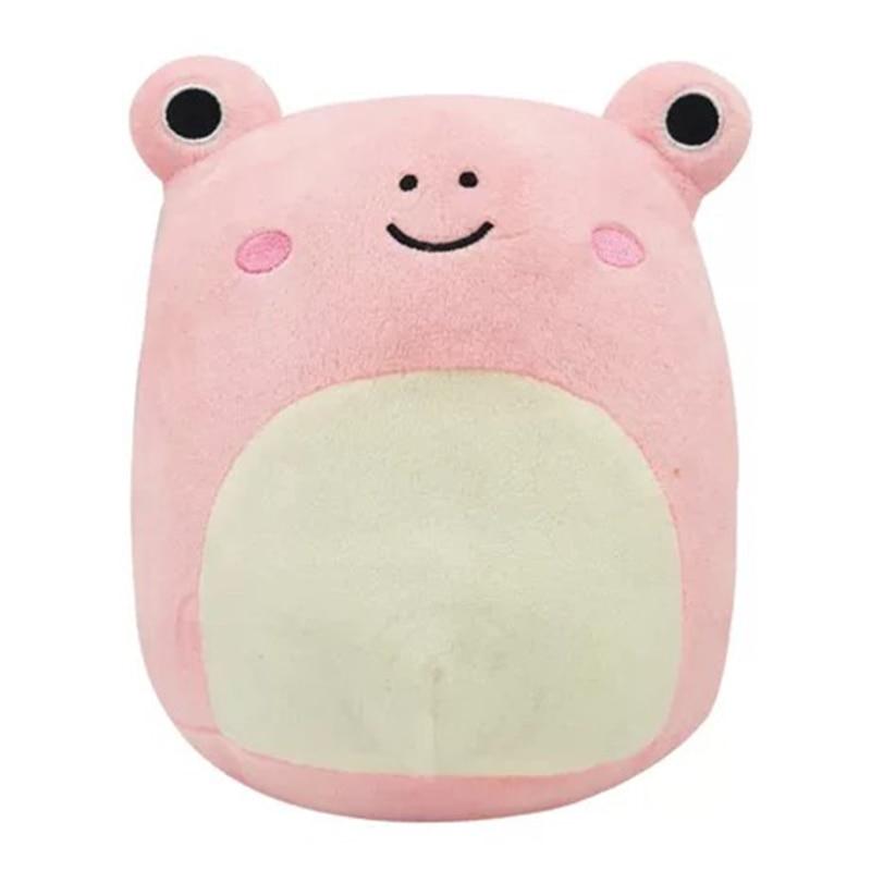 Плюшевая игрушка, кавайная мягкая мультяшная лягушка, подушка, милая мягкая коровья кукла, Коровья мягкая подушка, плюшевые игрушки для дет...