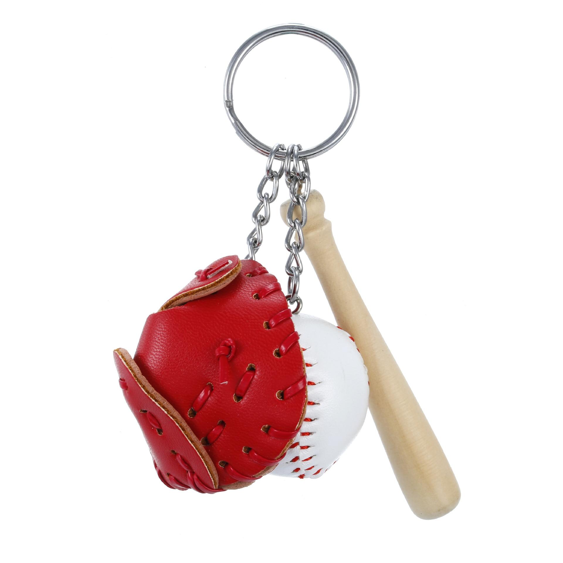 Creative Baseball Keychain Bag Pendant Baseball Fan Supplies Gifts Sports Souvenirs Fun Holiday Jewe