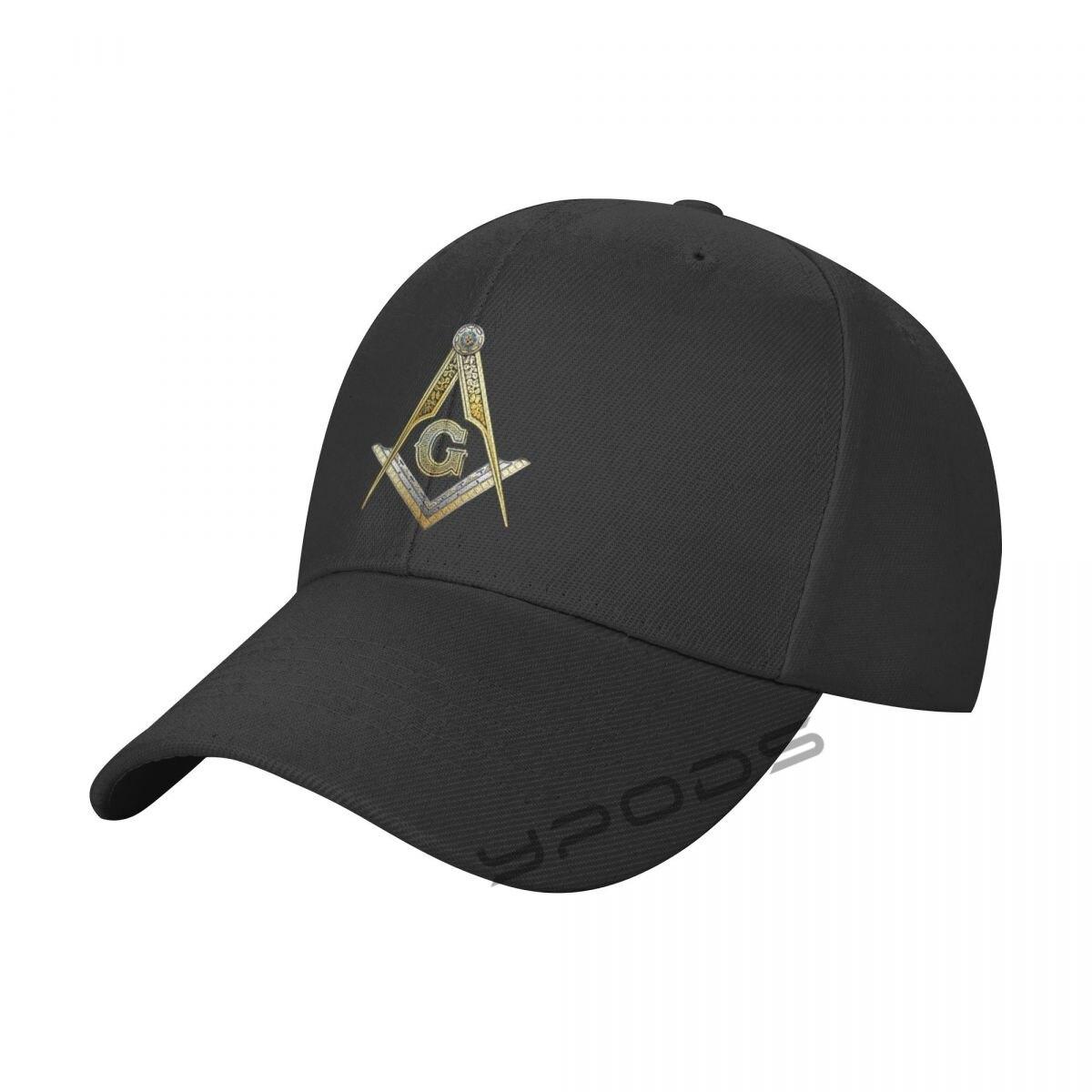Однотонные бейсболки AKFJ -NKJA- Masonic, многоцветные мужские и женские кепки с козырьком, регулируемые повседневные спортивные кепки