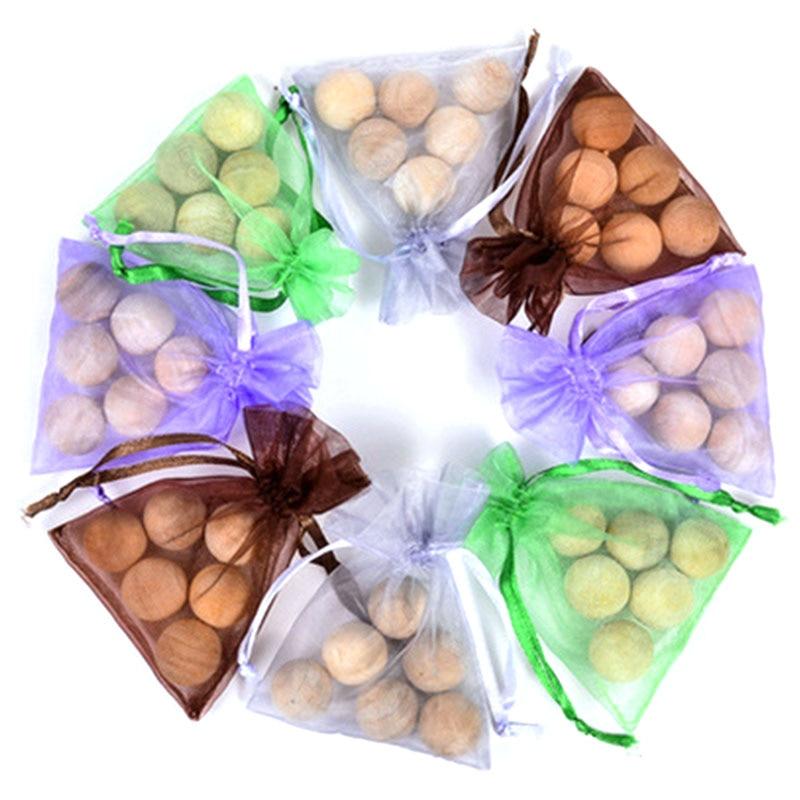 Bolas de Camphor de fragancia Natural pura, bolsa de 6 unidades, bolas de polillas repelentes de moho, para prevenir plagas de eucalipto, crema hidratante R9R4