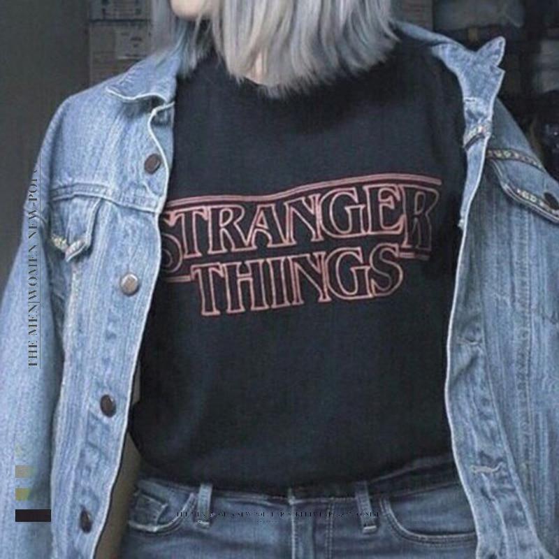 Camiseta de manga corta con letras de verano para hombre y mujer