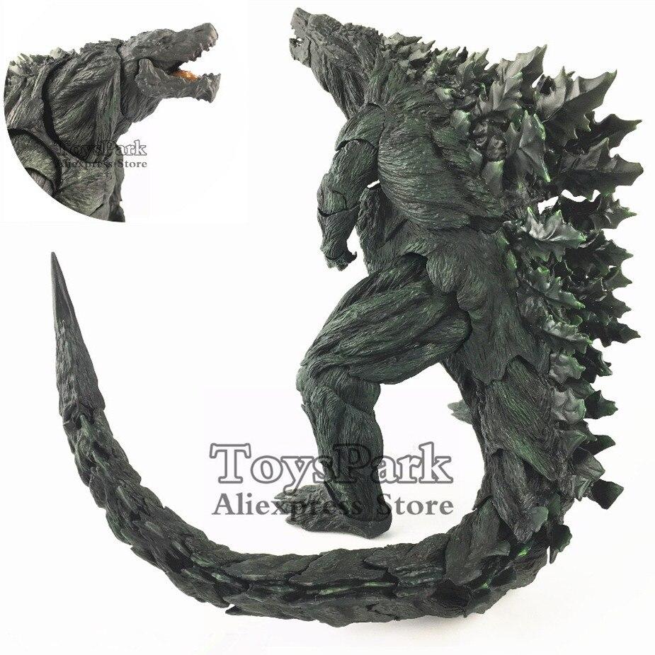 "Ariticulation Tail Gojira tierra monstruo planeta película 2017 First Limited 8 ""figura de acción S. H. Monsterart juguetes coleccionables sueltos"